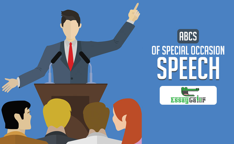 ABCs of Special Occasion Speech