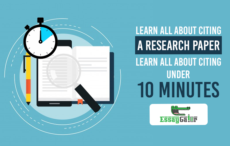 Learn All About Citing A Research Paper