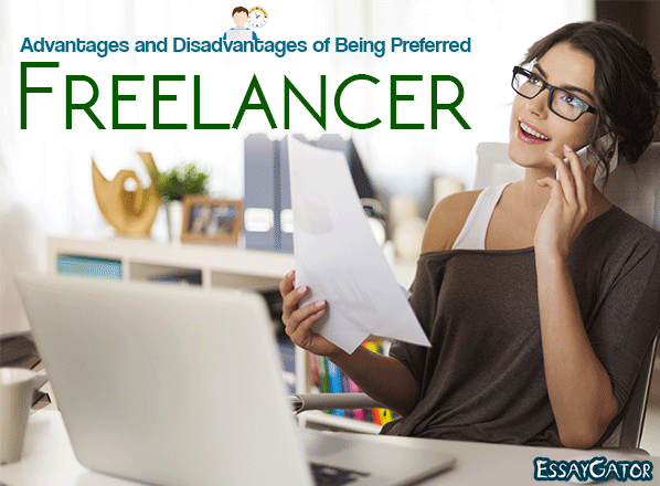 advantages and disadvantages of being freelancer